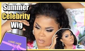 SUMMER CELEBRITY CURLY BOB WIG REVIEW | FIRST TIME TRYING LUV ME HAIR