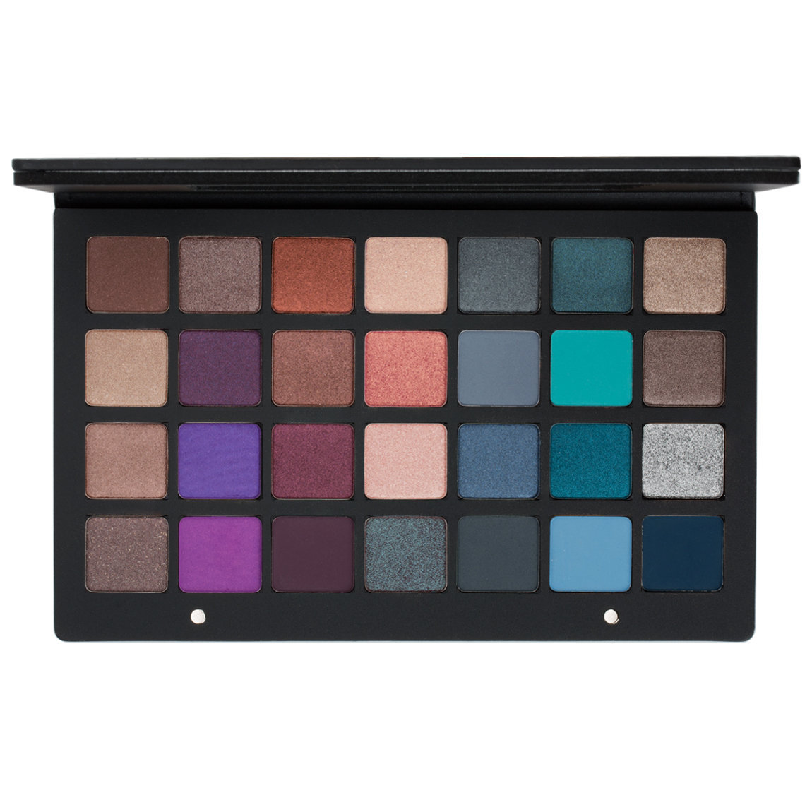 Natasha Denona Eyeshadow Palette 28 Purple Blue product smear.