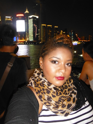 sweated this out a little bit. photo taken at night with flash at the bund