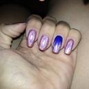Halo nail art