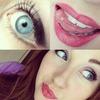 Violet Make-Up
