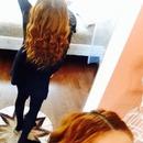 Fresh wavy hair
