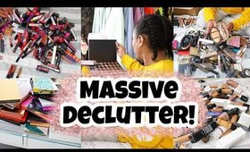 Clean With Me! Decluttering My Makeup Collection!!| Cleaning Motivation