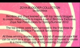 Birchbox: Exclusive Blogger Collection by Zoya Nail Polish