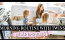 MORNING ROUTINE 35 WEEKS PREGNANT! | Kendra Atkins