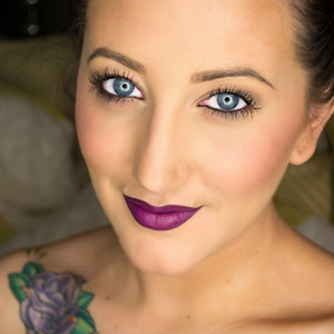 Love this beautiful purple lippie! Added to MAC's permanent collection!