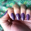 Purple dots...