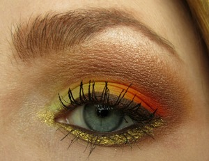 Fall Leaves Inspired Look!