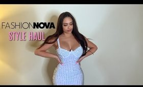 FASHION NOVA CURVE STYLE HAUL WITH MISSSPERU