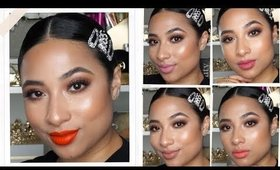 L'OREAL LES MACARON LIQUID LIPSTICKS: Lip Swatches & Review
