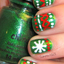 Christmas Sweater Nails Take Two