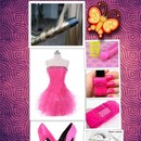 the pink collage
