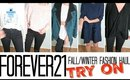 TRY ON FASHION HAUL - FOREVER21   SCCASTANEDA
