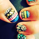 Tribe Nails Art
