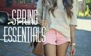 Spring Beauty & Fashion Essentials!
