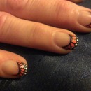 Admiral butterfly nails