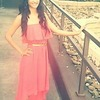 Coral Dress & Hair Extentions