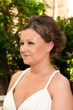 My wedding day.