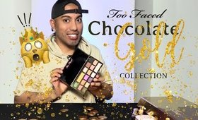 Too Faced Chocolate Gold Makeup Review