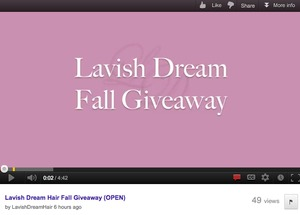 Enter now for your chance to win amazing prizes!  Lavish Dream Hair Extensions (value $139.99 USD), BaByliss Pro Ceramic Hot Rollers, (value $50 USD), or win PayPal CASH ($50.00 USD)!  http://www.lavishdreamhair.com/giveaway