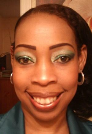 Green makes my brown eyes pop.