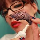 How to Properly Apply False Eyelash Glue...