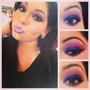 blue purple & pink!