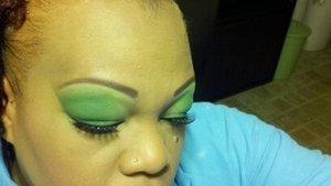 green eyed bandit