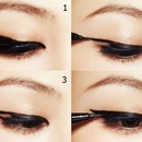 Korean :How to eyeliner ❤