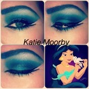 princess jasmine inspired makeup