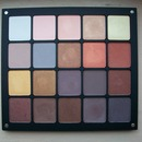 Inglot 20 Pan Neutral, Brown and Gold Eyeshadow Palette.