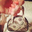 Peach money bags 💅