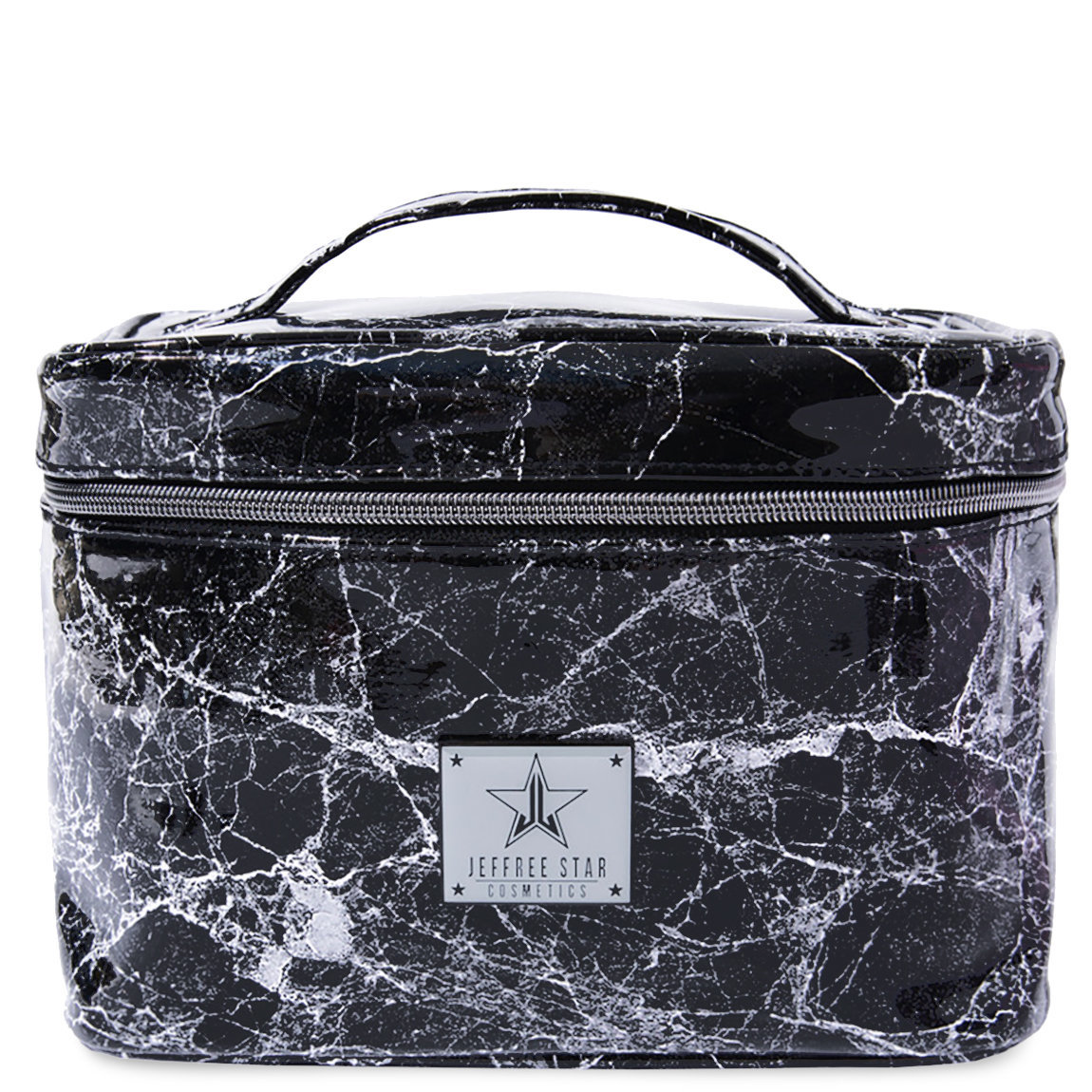 Jeffree Star Cosmetics Travel Makeup Bag Black Marble alternative view 1 - product swatch.