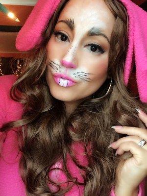 bunny makeup by me