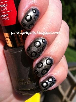 revlon carbonite nail art 2
