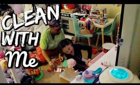 Deep Clean With Me | MY 5 YEAR OLDS ROOM