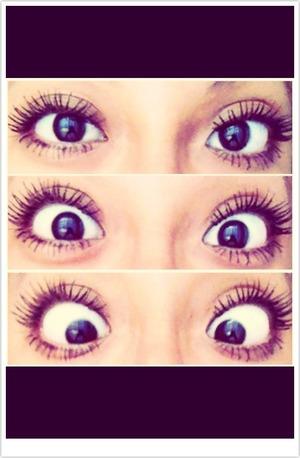 My best friend Maria's eye lashes <33 like ?:)