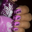 New Year 2014 Nail Art