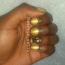 Gold & Black w/ rhinestone crown
