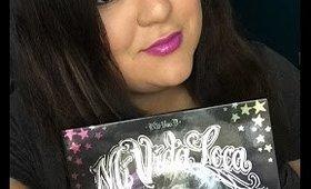 Kat Von D Mi Vida Loca Remix Holiday Palette Review with Swatches!