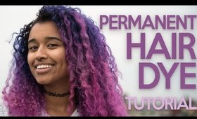 BRIGHT Hair Dye Tutorial Using *PERMANENT* Dyes! | Clairol Professional FLARE Me Hair Dye Tutorial