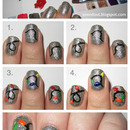 Christmas Lights Nail Tutorial!