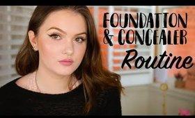 My Longwear Foundation & Concealer Routine!