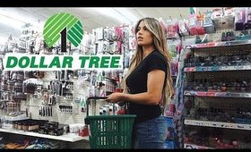 TRYING DOLLAR TREE MAKEUP CHALLENGE