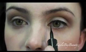 HOW TO GET PERFECT WINGED EYELINER!