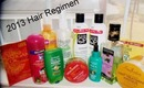 2013 Hair regimen products