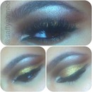 Gold + Brown Cut Crease