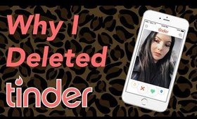 Why I Deleted Tinder & My Channel Plan/Update | Olivia Frescura