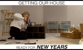VLOG: Getting our house ready for New Years 🎇