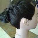 Braided Updo(Side)